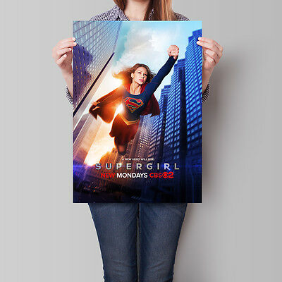 Supergirl Poster TV Series Melissa Benoist Season 1 Promo 16.6 x 23.4 in (A2)