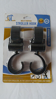 Stroller Hook By Luna - Universal Fit for All Strollers New SEALED