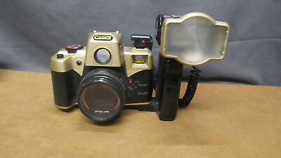 Vintage Canon 35mm Film Camera CNx30 w/Self Timer Flash Bar