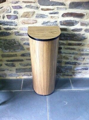Vintage French Baguette Box. French Wooden  Bread Bin Farmhouse Formica