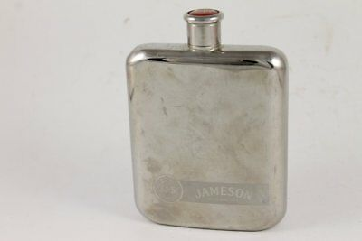 Vintage JOHN JAMESON SON Irish Whiskey Hip Flask