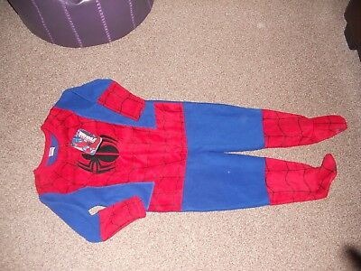 Boys all in one spider man suit - Primark - age 4-5 - BNWT
