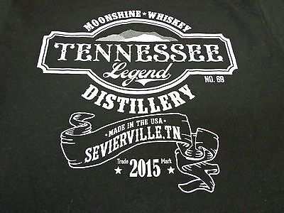 TENNESSEE LEGEND DISTILLERY 2015   Moonshine Whiskey Medium  T Shirt  M3