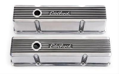 ED4263 Edelbrock Elite II Series Rocker Covers Chev 350 Small Block