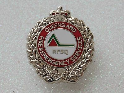 Queensland Fire & Emergency RFSQ Lapel Pin NEW
