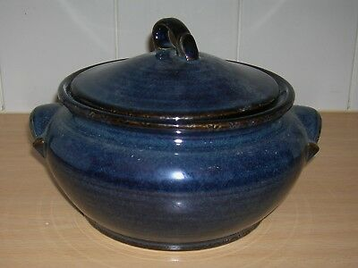 BHS BRECON BLUE 8inch LIDDED VEGETABLE TUREEN