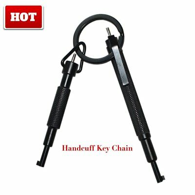 Universal Metal Alloy Handcuff Key With Pen Clip Lightweight Hand Cuff HT