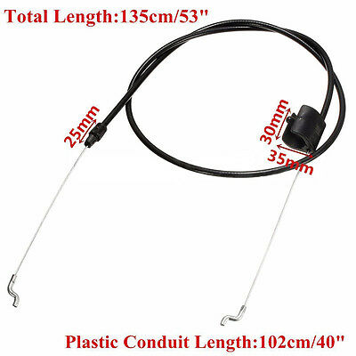 Black Lawn Mower Throttle Pull Cable Engine Zone Control Cable For MTD SERIES