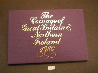 1980 Coinage of Great Britain and Ireland Proof Set