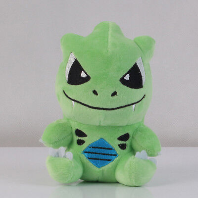 "Pokemon Center Tyranitar Soft Plush Stuffed Toy Doll 6"" Collectible Xmas Gift US"