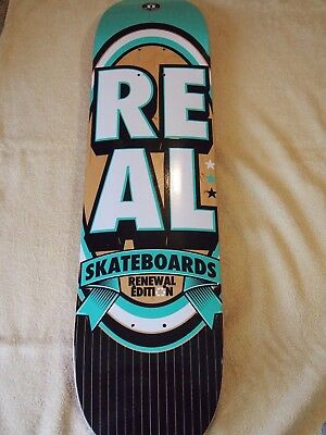 "Real 7.75"" skateboard deck with FREE grip + postage"