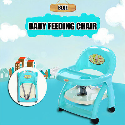 Baby Eating Feeding Table Seat Toddler Portable Booster Feeding Chair Foldable