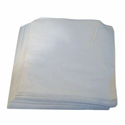 300+ White Strung Square Paper Kraft Loot Food Gift Commercial 170mm x 170mm