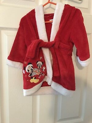 Baby's Disney Christmas Robe 6-9 months