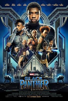 Black Panther - Affiche Poster cinema Petit et Grand Modele