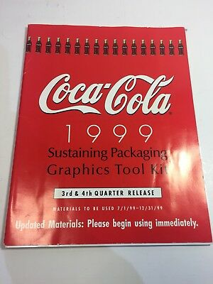 Coca Cola 1999 Product Packaging Graphics Book