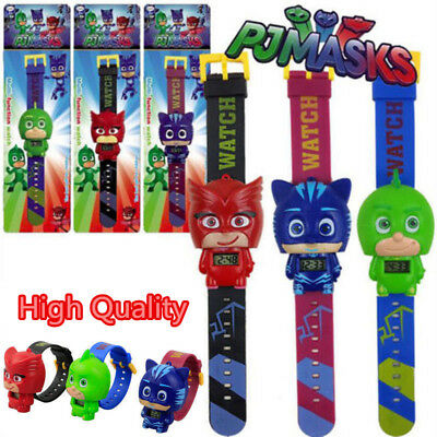 PJ Masks Characters Catboy Owlette Gekko Action Figure Watch Kids Gift Toy Gift
