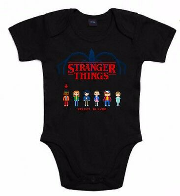 BODYSTRANGER THINGS SERIE SHOW TV 80 RETRO FUN DIVERTIDAS TSHIRT SIL Sst012