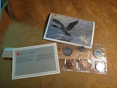 1989 Canada Uncirculated Coin Set - Free S&H USA