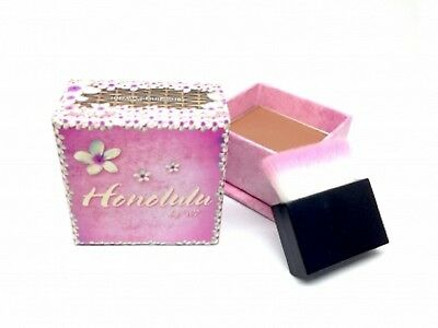 W7 Honolulu Bronzer 6g With Soft Luxurious Application Brush On The Go Brand New