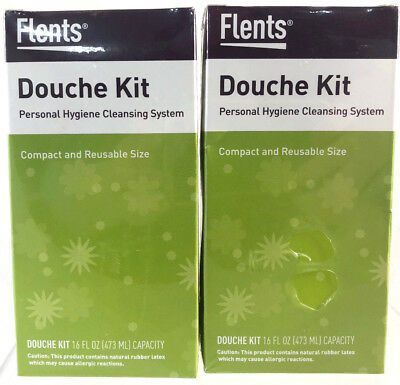 Flents Douche Kit Personal Hygiene Cleansing System New & Sealed