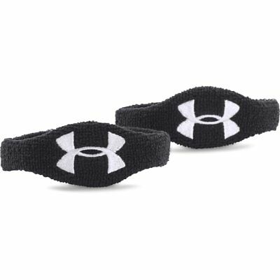 "Brand New Under Armour 1/2"" Oversized Performance Wristband 2-Pack 1265321"