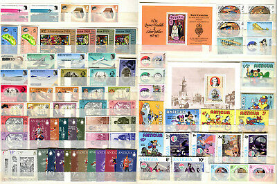 Antigua 1969 - 1981  ***** 81 Mnh / Mng / Mint Stamps