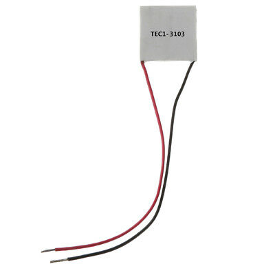 TEC1-3103 20x20mm Thermoelectric Cooler Peltier Plate Module 6.5W CPU