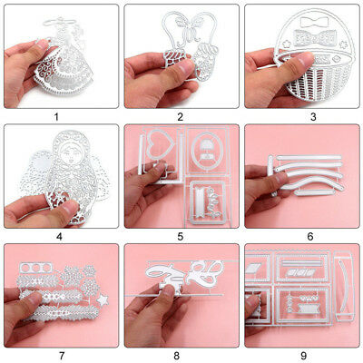 Metal Die Cut Craft Cutting Dies DIY Scrapbooking Decor Card Making Album