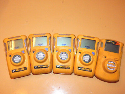 Lot Of Five BW Clip H2S Monitors Sold as Is Untested