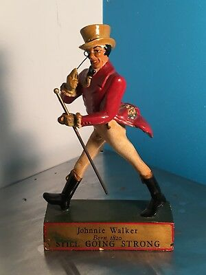 Johnnie Walker early advertising Figure Circa 1920 Very Rare. Still going strong