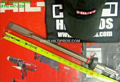 "HILTI NARROW-FLAT CHISEL TE-SP, 1-1/4"" x 19"", NEW . GERMANY. MADE , FAST SHIP"