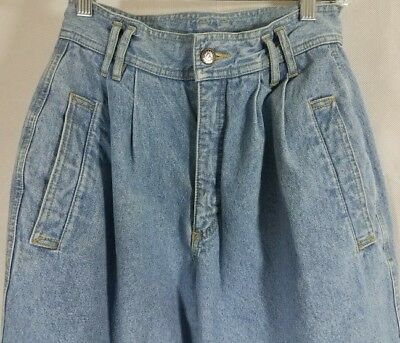 "Vintage Lizwear High Waisted Mom Jeans 1980's Size 8  26""x 29.5"""