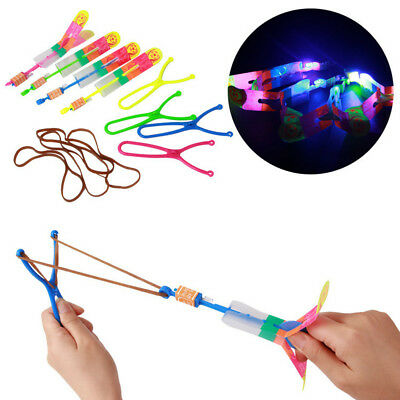 Fun Dragonfly LED Light Up Flashing Glow Flying Dragonfly For Party Toys Kids H7