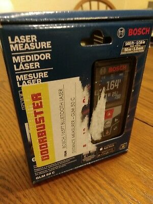 Bosch GLM 50C Laser Measure 165ft Bluetooth - New & Sealed, FAST FREE PRIORITY