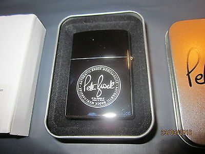 Peter Brock 05 HDT - Limited Edition Lighter  . Brand New in collectors Tin