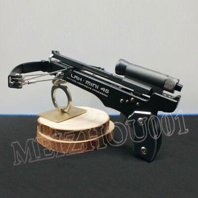 Mini Crossbow Shooting Toy 2015 Deluxe Kit Black Color Ammo Arrow amp Ball