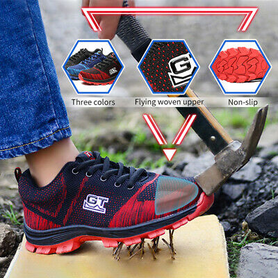 2018 GT Mens Work Safety Work Boots Steel Toe Hiking Climbing Shoes AU Size 5-10