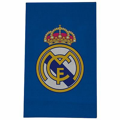 Real Madrid Cf Crest Floor Rug - Childrens Bedroom New Official Team