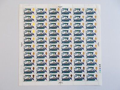 SG711 Battle of Hastings 4d complete no dot sheet of 60. Cat. £6.00 as singles.