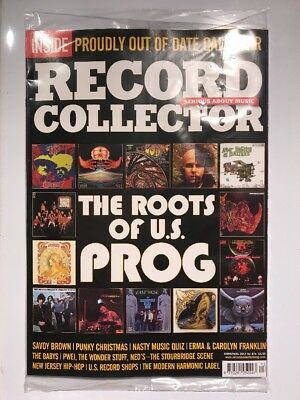 RECORD COLLECTOR MAGAZINE Christmas 2017 FREE CALENDAR! US Prog Rock NEW