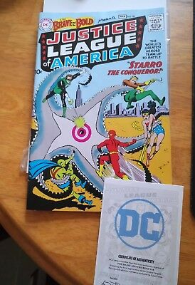 DC Justice League of America The Brave And The Bold #28 comic Reprint Loot Crate