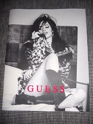 CAMILA CABELLO for GUESS CATALOG 302 FALL 2017  CATALOGUE KATALOG LOOKBOOK