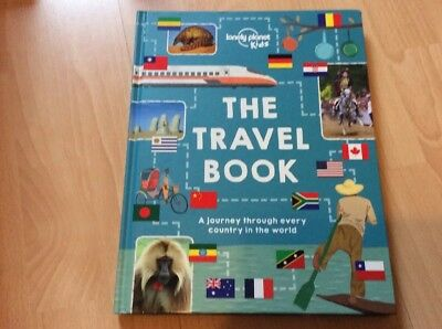 The Travel Book: A journey through every country in the world (Lonely Planet Kid