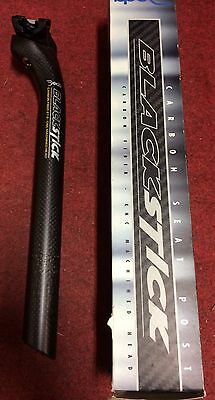 Canotto sella bici carbonio Deda Blackstick carbon 27.2 bike seat post 300 mm