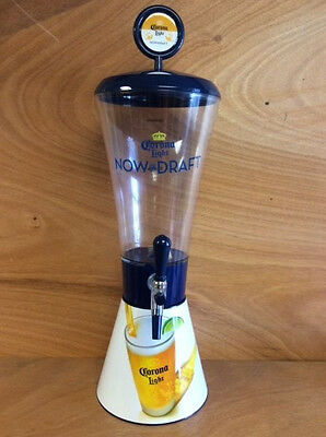 """Corona Light 130 oz. Beer Tower - Brand New & Free Shipping! 26"""" Tall - Unique"""