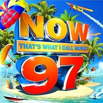 New/sealed Now That's What I Call Music 97 [2 Cd] Various Artists 2017 Free P&p