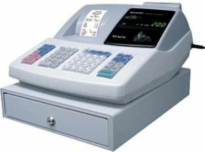 Sharp Xe-A21S Thermal-Printing Electronic Cash Register - 'as Is'