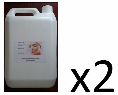 PURE Microdermabrasion crystals, 10kg, Grade A, Made in UK, FAST delivery-see ad