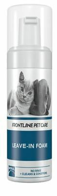 Frontline Pet Care Leave-in Foam for Cats&Dogs Fast SameDay Dispatch & Free Post